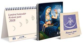Lunární kalendář 2018 Krásné paní - Žofie Kanyzová | Booksquad.ink