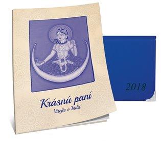 Lunární diář 2018 Krásné paní - Žofie Kanyzová | Booksquad.ink