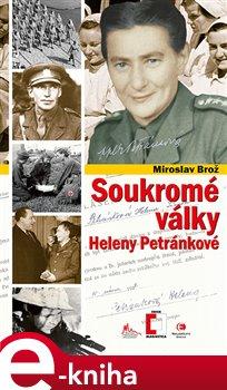 Obálka titulu Soukromé války Heleny Petránkové