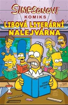 Obálka titulu Simpsonovi: Libová literární nalejvárna