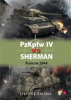 Obálka titulu PzKpfw IV vs Sherman