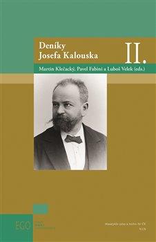 Obálka titulu Deníky Josefa Kalouska II.