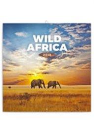 Kalendář poznámkový 2018 - Wild Africa