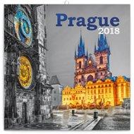 Kalendář poznámkový 2018 - Prague