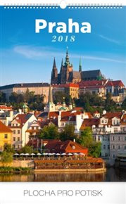 Kalendář nástěnný 2018 - Praha