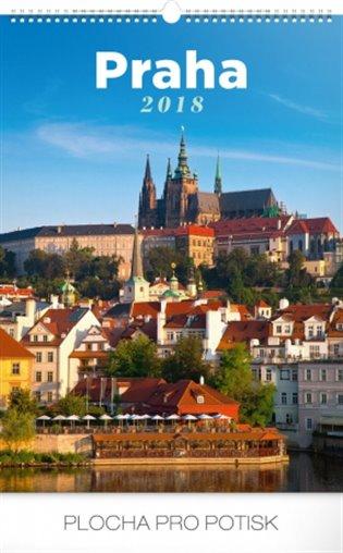 Kalendář nástěnný 2018 - Praha - -   Booksquad.ink