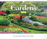 Kalendář nástěnný 2018 - Gardens