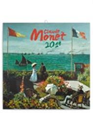 Kalendář poznámkový 2018 - Claude Monet