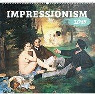Kalendář nástěnný 2018 - Impressionism