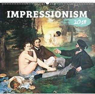 Kalendář nástěnný 2018 - Impressionism - - | Booksquad.ink