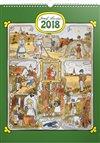 Obálka knihy Kalendář nástěnný 2018 Josef Lada - Měsíce