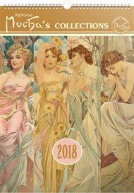 Kalendář nástěnný 2018 - Alfons Mucha