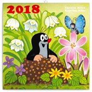 Kalendář poznámkový 2018 - Krteček