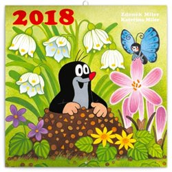 Obálka titulu Kalendář poznámkový 2018 - Krteček