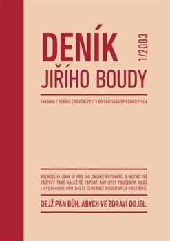 Obálka titulu Deník Jiřího Boudy
