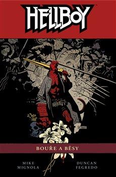 Obálka titulu Hellboy 12: Bouře a běsy