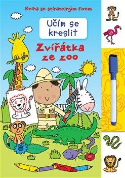 Obálka titulu Učím se kreslit - Zvířátka ze zoo