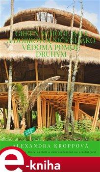 Obálka titulu Green school Bali a dobrovolničení jako vědomá pomoc druhým