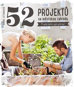 Obálka titulu 52 projektů na městskou zahradu