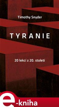 Obálka titulu Tyranie