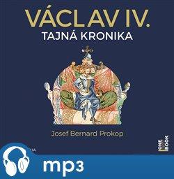 Obálka titulu Václav IV. - Tajná kronika velké doby malého krále