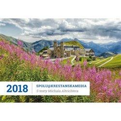 Obálka titulu Stolní kalendář 2018 s Radiem Proglas a texty Michala Altrichtera