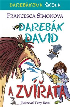 Obálka titulu Darebák David a zvířata