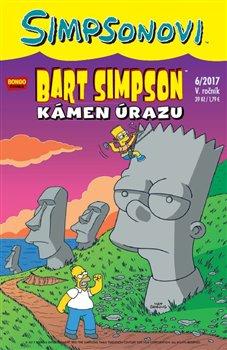 Obálka titulu Bart Simpson 6/2017: Kámen úrazu