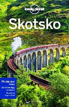 Obálka titulu Skotsko - Lonely Planet