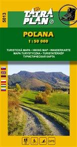 Poľana - Turistická mapa 1:50 000