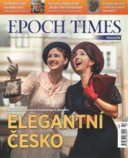 Obálka titulu Epoch Times. Elegantní Česko