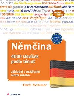 Obálka titulu Němčina 4000 slovíček podle témat