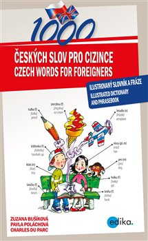 Obálka titulu 1000 českých slov pro cizince / 1000 Czech Words for Foreigners