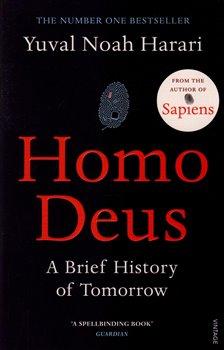 Obálka titulu Homo Deus