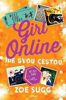 Obálka titulu Girl Online jde svou cestou