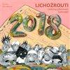 Obálka knihy Lichožrouti: Rodinný plánovací kalendář 2018