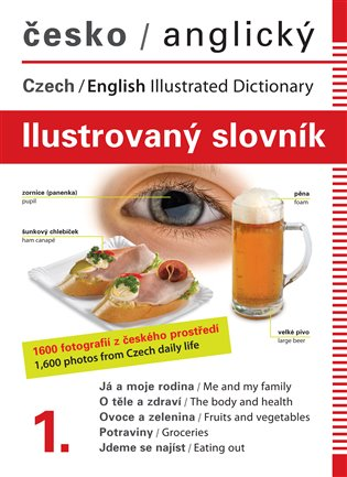 Česko-anglický ilustrovaný slovník 1. - Jana Dolanská Hrachová   Booksquad.ink