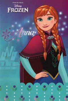Blok - Frozen – Ledové království Anna. nelinkovaný, spirálový A4