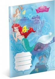 Sešit - Princezny – Ariel