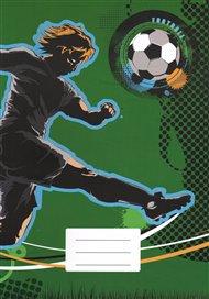 Sešit - Fotbal, linkovaný
