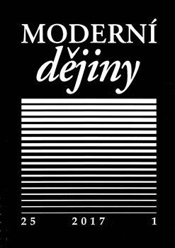 Obálka titulu Moderní dějiny 25/1 2017