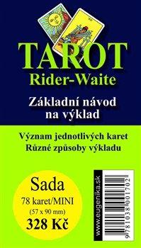 Obálka titulu Tarot Rider - Waite