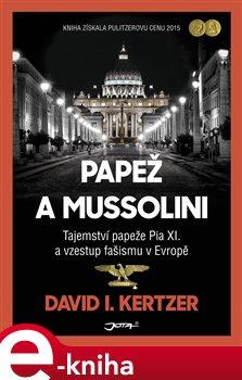 Obálka titulu Papež a Mussolini