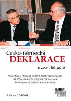Obálka titulu Česko-německá deklarace dvacet let poté