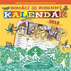 Obálka titulu Domácí rodinný kalendář 2018