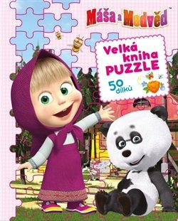 Obálka titulu Máša a medvěd - Velká kniha puzzle