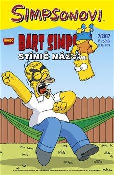 Obálka titulu Bart Simpson 7/2017: Stínič názvu