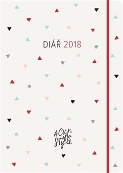 Obálka titulu A Cup of Style 2018- Diář