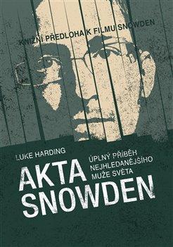 Obálka titulu Akta Snowden
