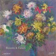 Nástěnný kalendář - Claude Monet 2018